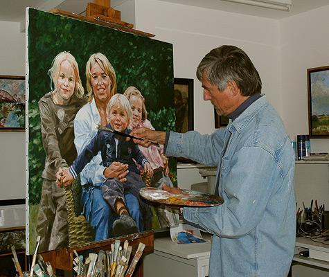 Cor heilig portret werkwijze - Foto van slaapkamer schilderij ...