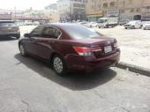 Honda accord 2011 Dark red