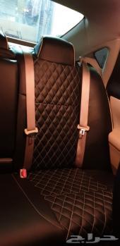 تلبيس مقاعد جلد التيما 2013 الى 2018 جديد تفص