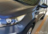 كيا سبورتاج 2012 للبيع دبل