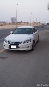 هوندا اكورد 2012 ابيض لؤلؤي  (نظيف) سعودي