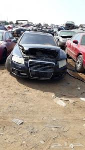 قطع غيار اودي   A6 تشليح 2011