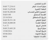 لتنازل  اكورد عنابي 2016 من البنك الأهلي