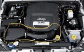 جيب رانجلر فلتر هواء الوكالة  مكينة 3.6 سي سي