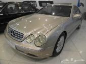 مرسيدس CL500 جفالي 2002