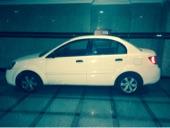للتنازل سيارة كيا ريو م 2011 أبيض استعمال نظيف وعلى الشرط