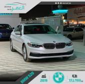 بي ام دبليو 520i ستاندر (لوحات) سعودي 2019