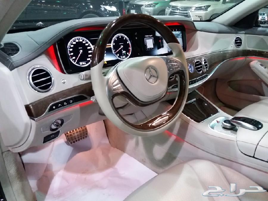 مرسيدس  S400  موديل 2015