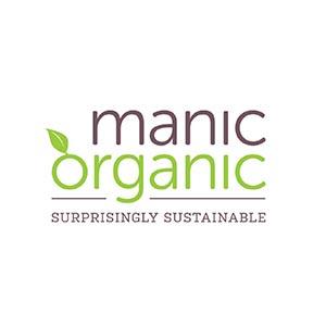 Manic organic logo