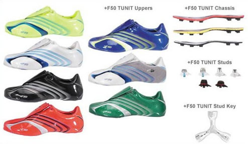 adidas f50 tunit upper
