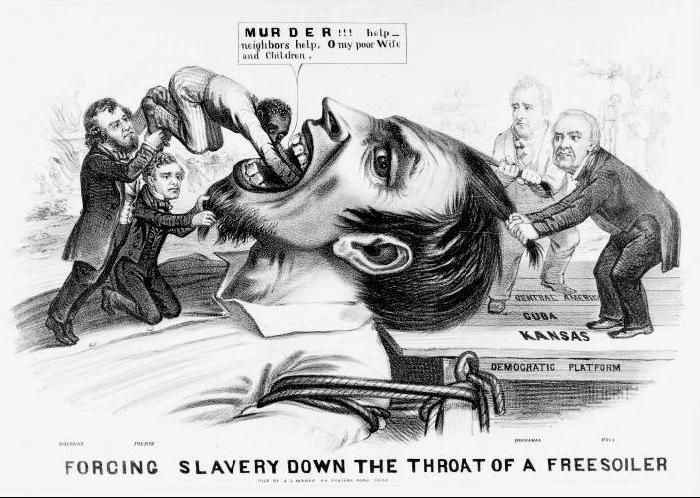 Reasons slavery caused the civil war?