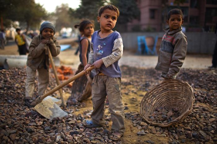 Child labour currently happening around the world.?