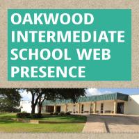 Infographic: Oakwood Intermediate School web presence | infogr.am