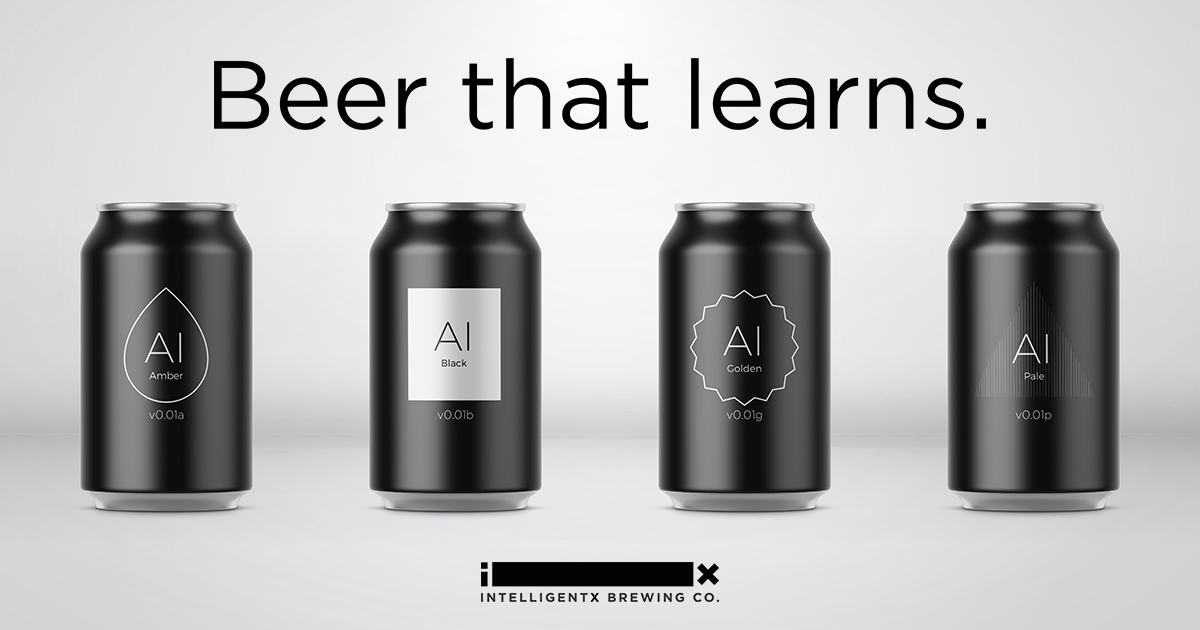 Beer brewed by A.I.