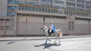 Il principe azzurro? Vive in Puglia e cerca la sua bella a cavallo per la proposta di matrimonio