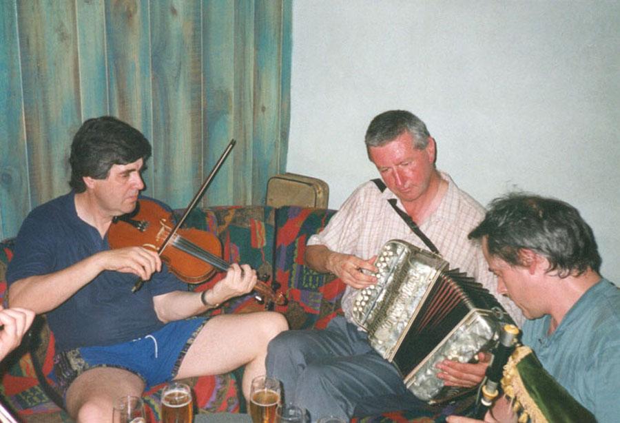 Rencontre irlandaise tocane