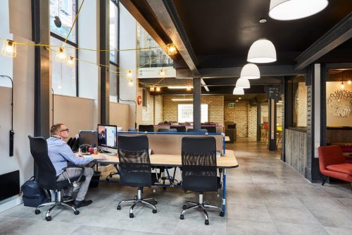 co-working, manchester, ancoats, office, desk, hotdesk