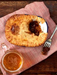 Aussie humble pie