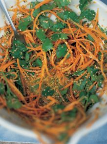 Carrot and coriander treat for all