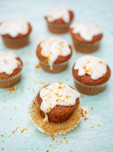 Glut squash cupcakes