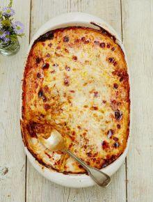 Gluten-free beef lasagne