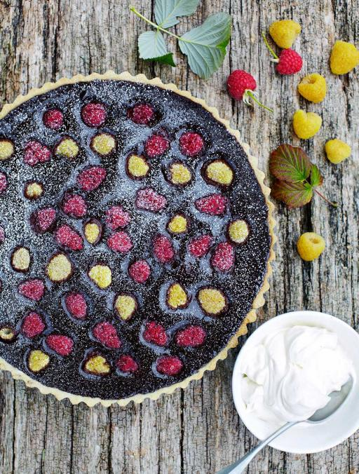 Chocolate Orange Tart Recipe Jamie Oliver