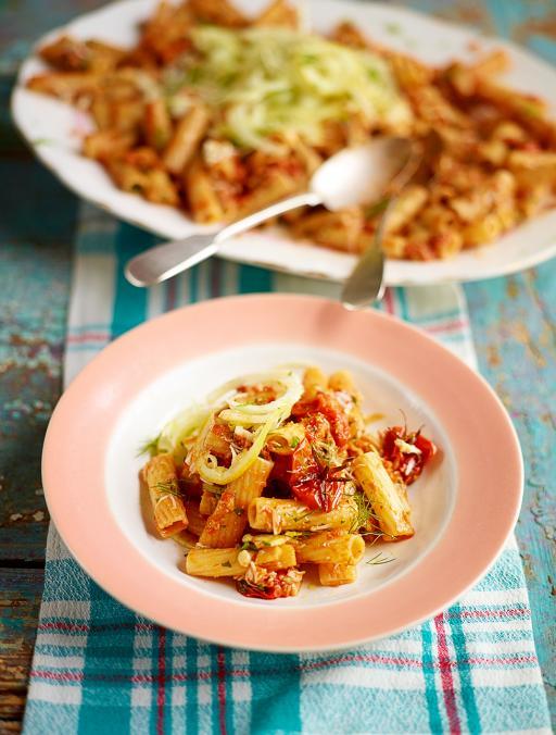 Crab rigatoni | Jamie Oliver | Food | Jamie Oliver (UK)