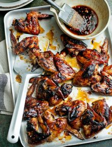 Ginger & honey chicken wings