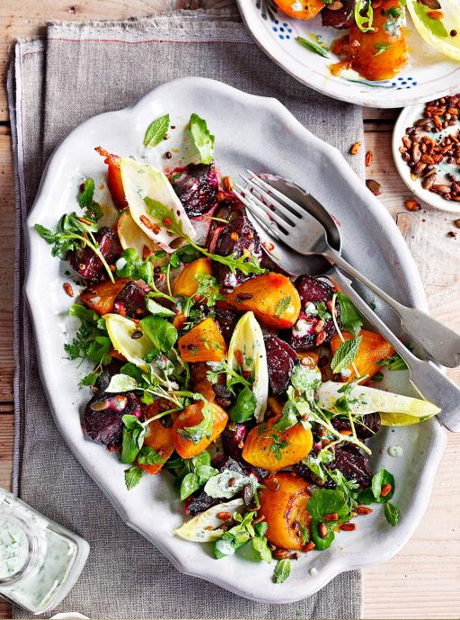 Candied Beetroot Salad