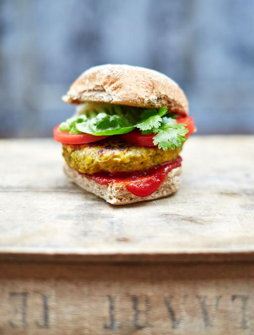 The best vegan burger Jamie Oliver