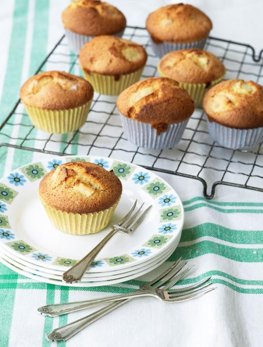 Gluten Free Apple & Almond Cupcakes