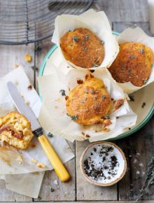 Gluten-free cottage cheese muffins