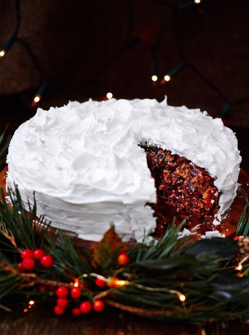 Gluten Free Apple Christmas Cake