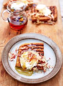 Gluten-free griddle pan waffles