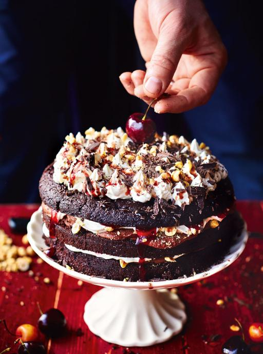 Beautiful black forest gateau