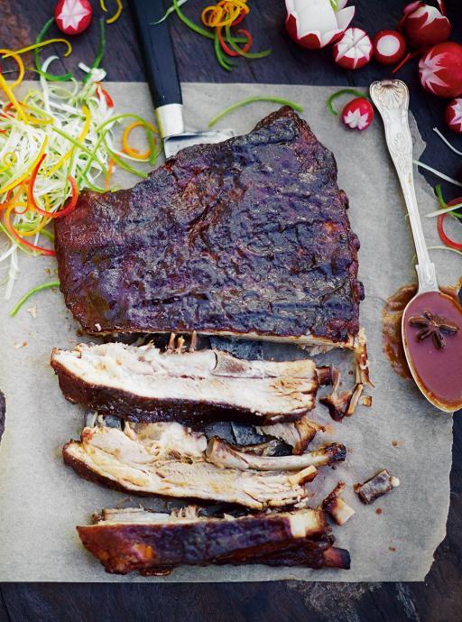 sticky chinese ribs pork recipes jamie oliver. Black Bedroom Furniture Sets. Home Design Ideas