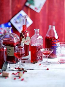 Spiced pomegranate gin