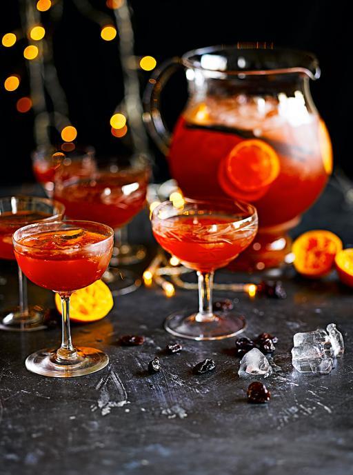 christmas punch drinks tube jamie oliver. Black Bedroom Furniture Sets. Home Design Ideas