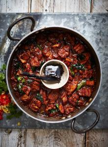 Hot & smoky vindaloo with pork belly