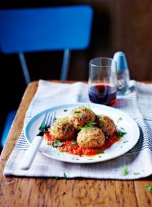 Roasted fennel & pine nut polpette