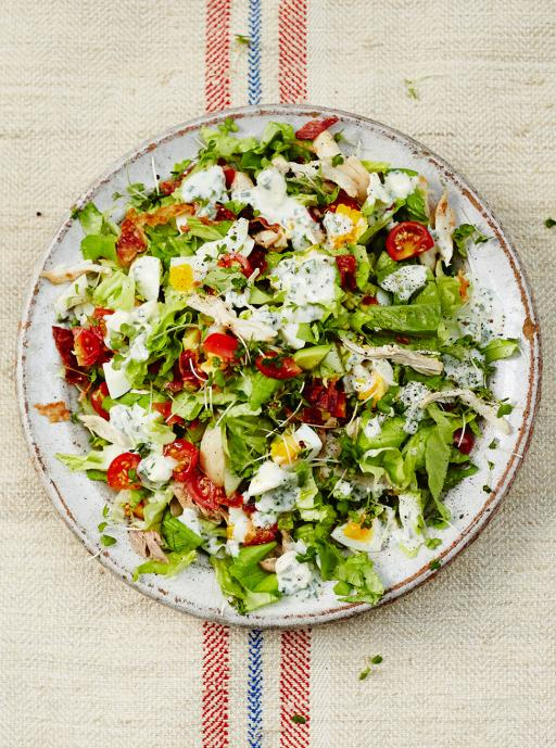 Cracking Cobb salad
