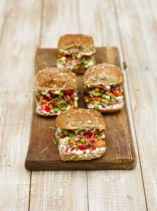 Squash it sandwich