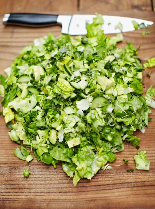 Simple chopped salad