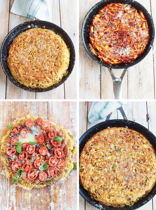 Gennaro's pasta frittata – lots of ways