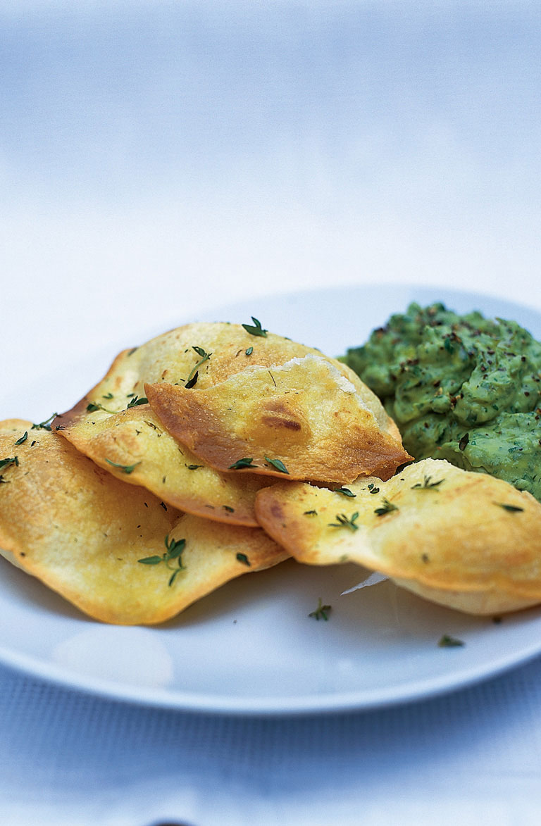 Vegetarian Tortillas  with Guacamole