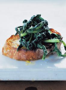 Crostini – greens