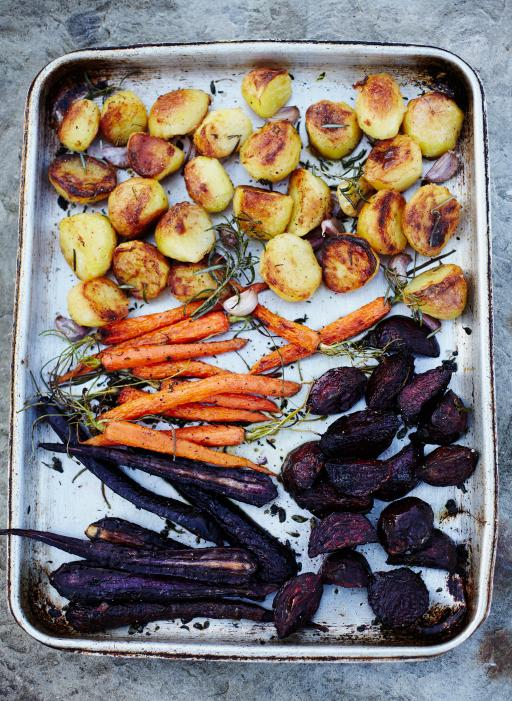 Honey Roast Vegetables