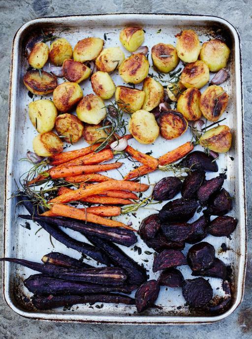 Honey Roast Vegetables