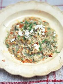 Fennel risotto with ricotta and dried chilli (Risotto ai finocchi con ricotta e peperoncino)