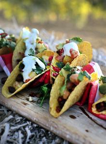 Festive fiesta tacos